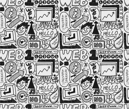 seamless web pattern Stock Vector - 9935266