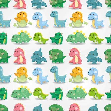 dinosauro: modello di dinosauro senza soluzione di continuit�