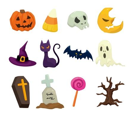 Halloween icons set Stock Vector - 10170081