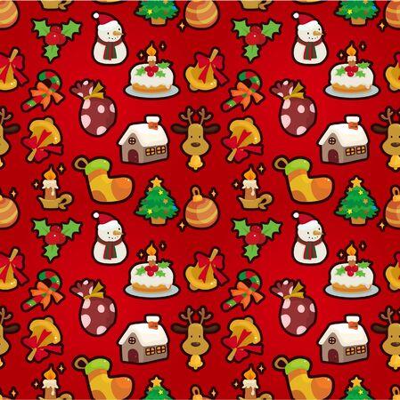 Perfecta de dibujos animados de Navidad divertida Foto de archivo - 10218180