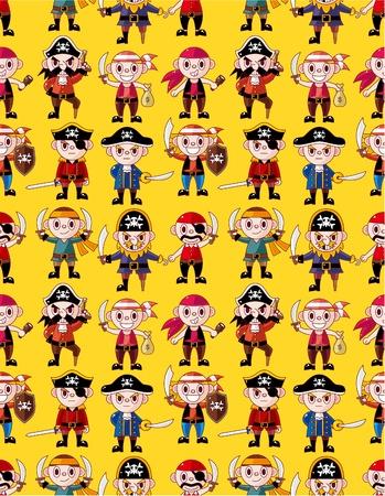 seamless pirate pattern Stock Vector - 10399962
