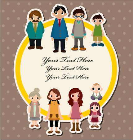 home birth: family card