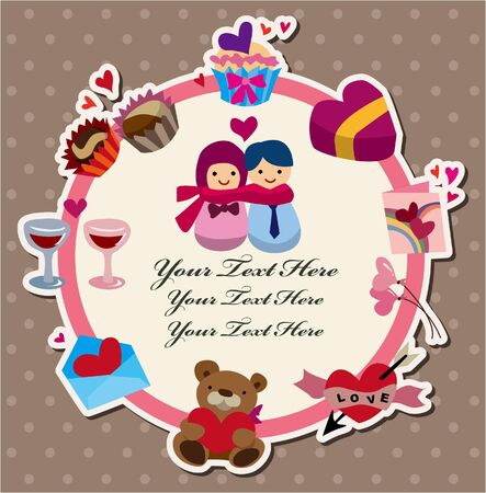love card Stock Vector - 10482387