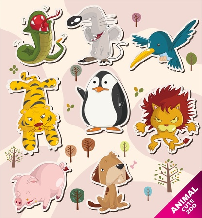 pig with wings: cartoon animal icons
