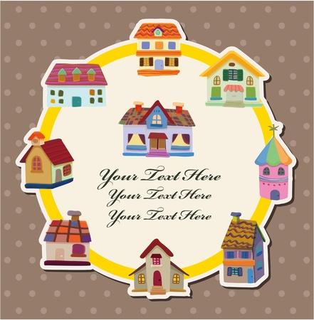 house card Stock Vector - 10588885