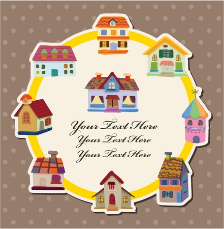 house card  Vector