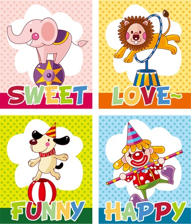 circus card