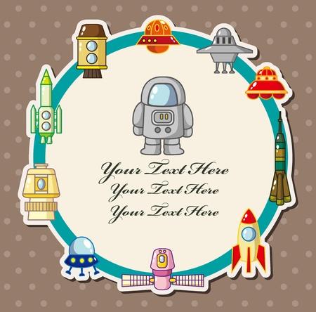 spaceship card