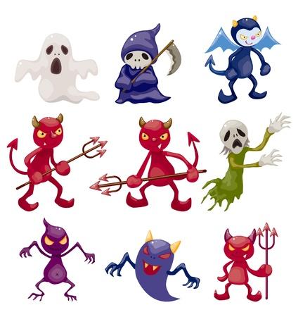 monster doodle  Vector