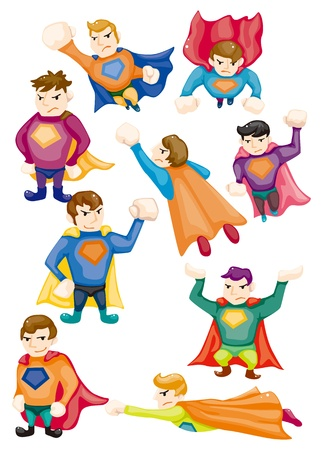 muscly: cartoon superman icons