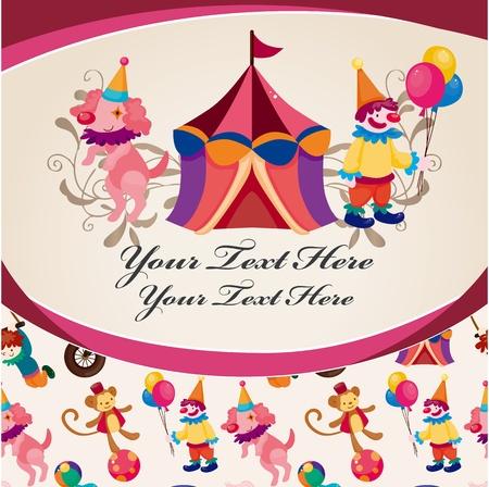 tabernacle: circus card