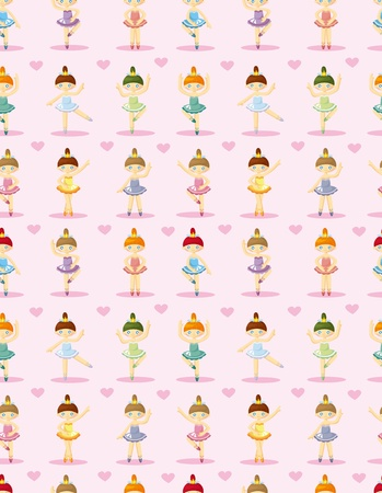 ballet slippers: seamless Ballet pattern