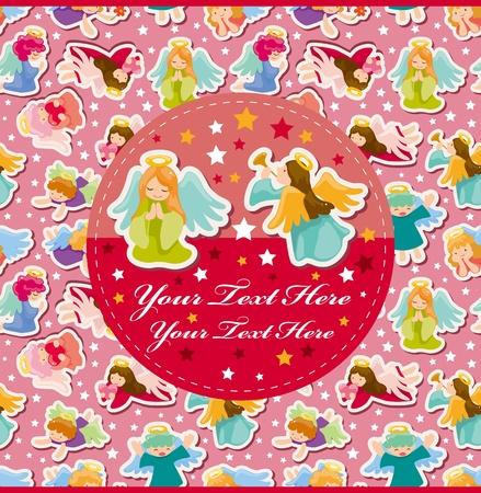 angel birthday: angel card