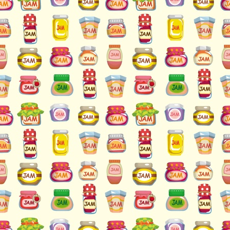 seamless jam pattern  Vector