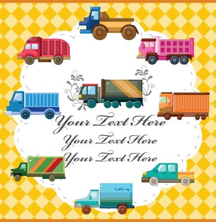 truck card Vector