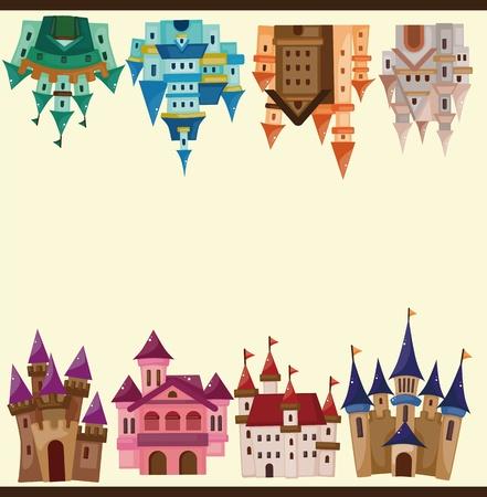 fairy story: castello di carta cartone animato