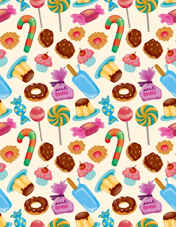 cookies: seamless candy pattern