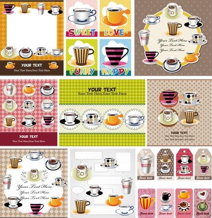 coffee card Stock Vector - 11810283