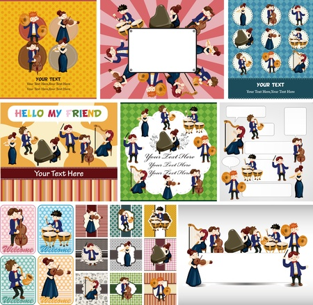 fife: orchestra music player card