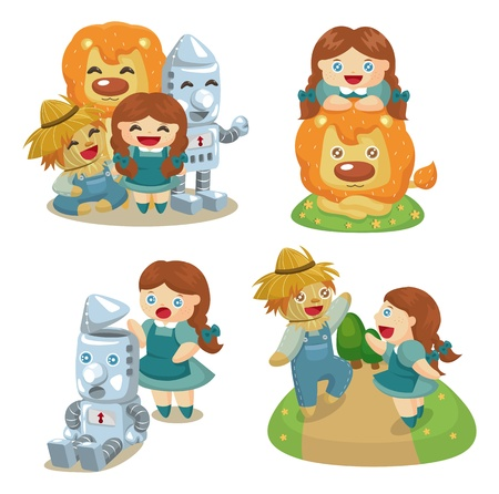 The Wizard of Oz Vector