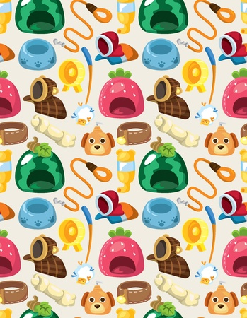 pet tool seamless pattern Vector