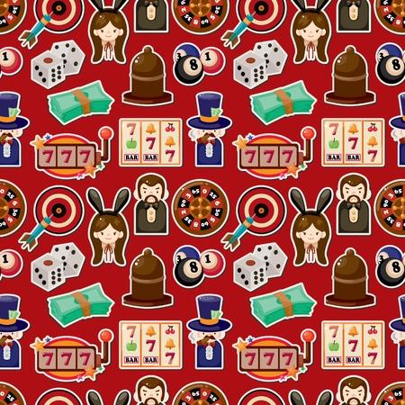 seamless casino pattern Stock Vector - 12236622