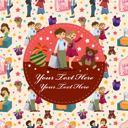 citylife: shopping card Illustration
