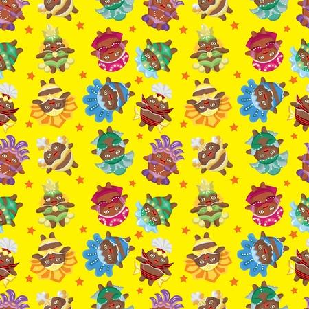 carnival costume: carnival costume seamless pattern