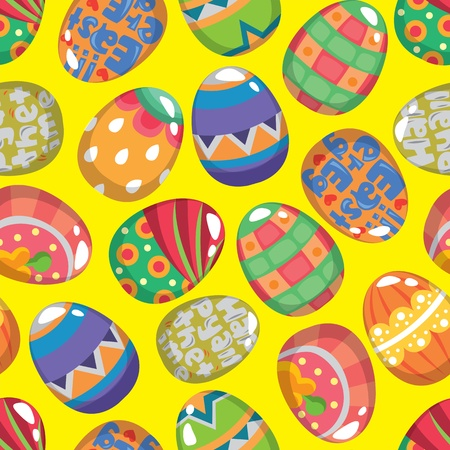 seamless Easter Egg pattern Stock Vector - 12236655