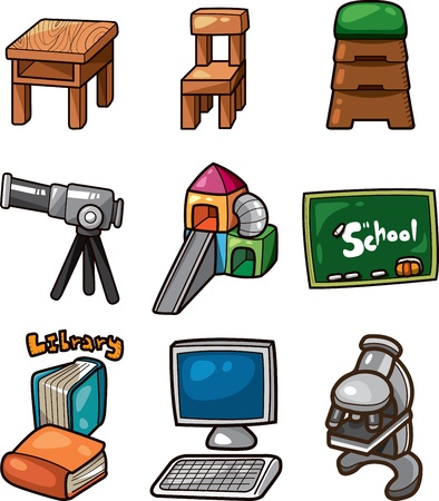 Vector illustration - Education  web icon Vector