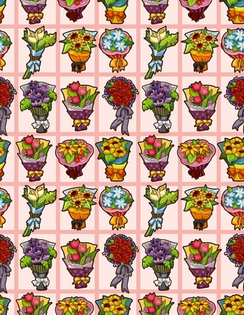 flower seamless pattern Stock Vector - 12371438