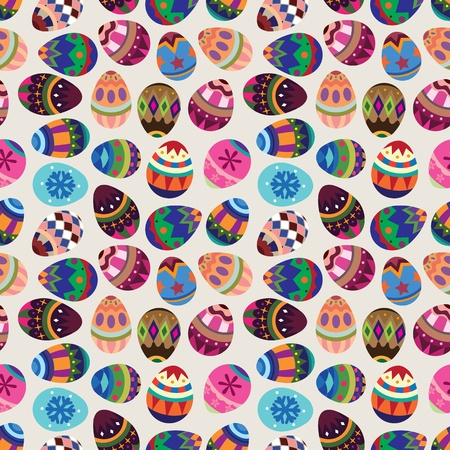 seamless Easter Egg pattern Stock Vector - 12488059