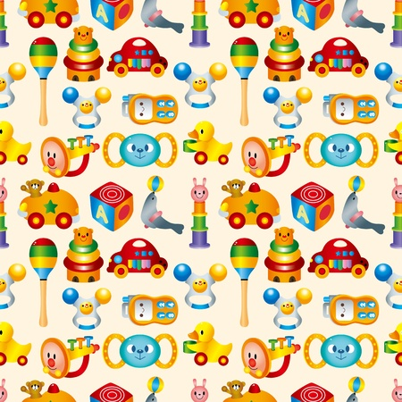 maraca: kid toy seamless pattern