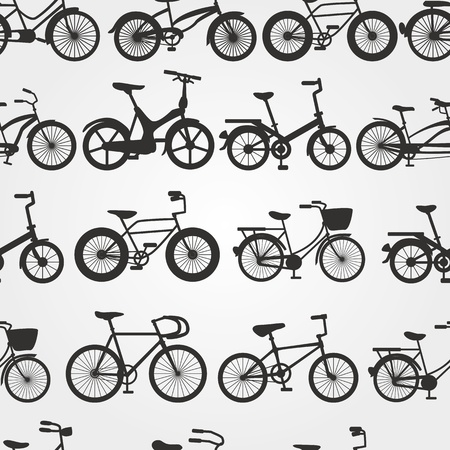 retro bike background  Vector