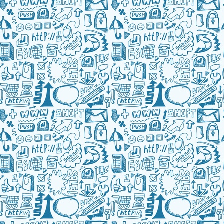 seamless web pattern Stock Vector - 12949036