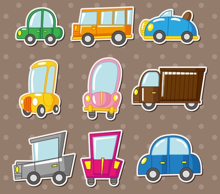 car stickers Vector