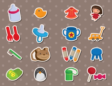 vehicle accessory: baby stuff stickers