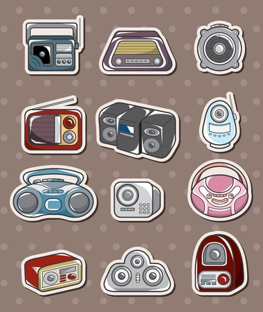 cilp: radio stickers