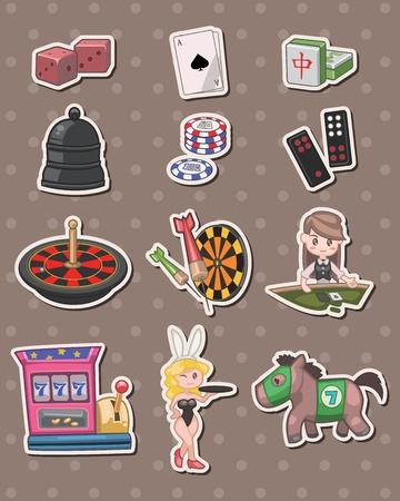mahjong: casino stickers