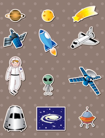 spacecraft: space stickers