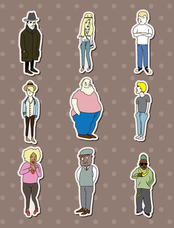relatives: people stickers