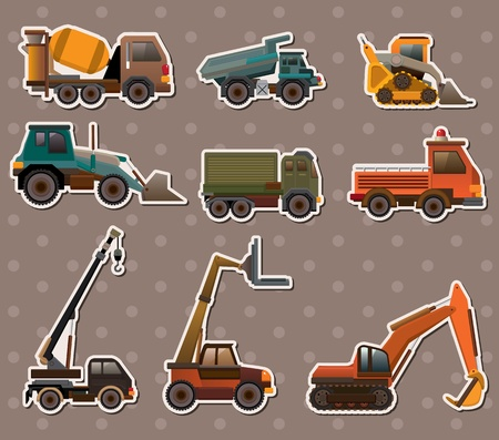 truck stickers Stock Vector - 13586767