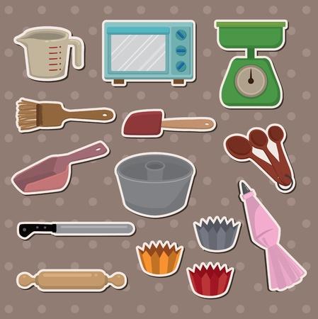 baking stickers Stock Vector - 13586695