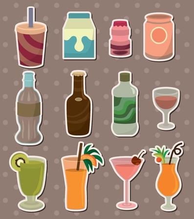 mineralien: trinken Aufkleber