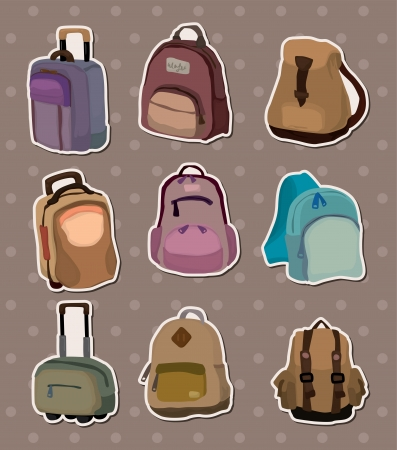 bag stickers Vector