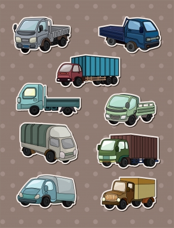quarry: truck stickers