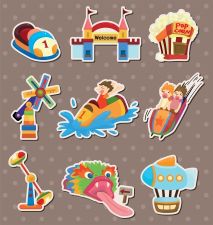 playground stickers Vector