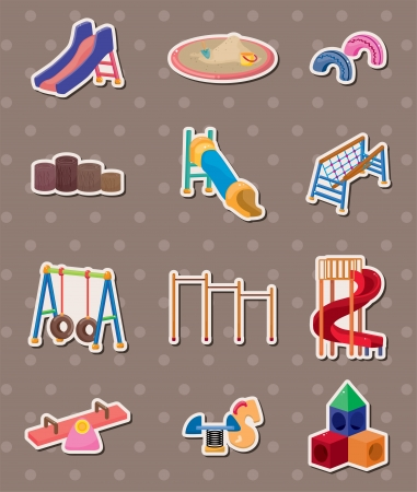 park stickers  Vector