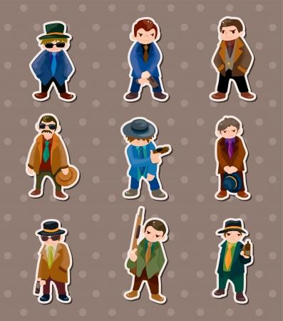 organized crime: mafia stickers