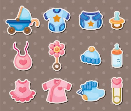 stickers: baby stickers Illustration